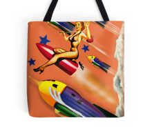 rock it to the moon! Tote Bag