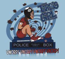 Tardis Girl Baby Tee