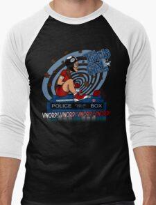 Tardis Girl Men's Baseball ¾ T-Shirt
