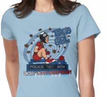 Tardis Girl Womens Fitted T-Shirt