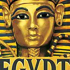 Egypt -Tutankhamun by vectorwebstore