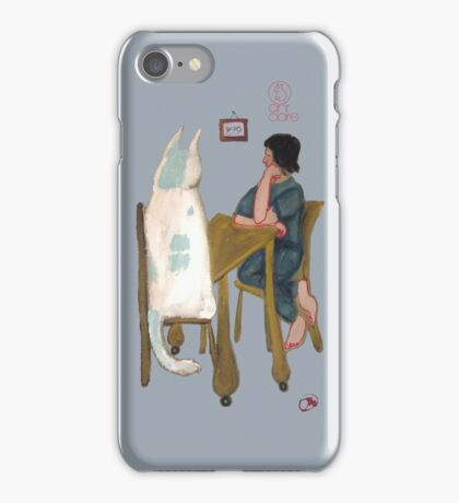iphone Kitty Case by jacinta stephenson as cint clare iPhone Case/Skin