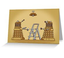 Dalek DIY Greeting Card