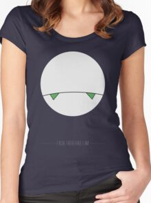 I ache, therefore I am. Women's Fitted Scoop T-Shirt