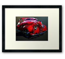 Red Ford Coupe Framed Print