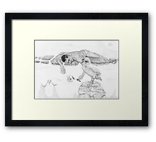 Evolution 2 Framed Print