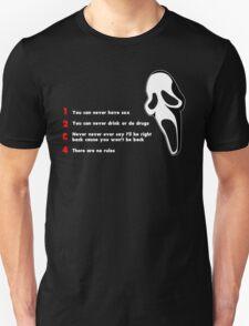 Scream: Randy's rules Unisex T-Shirt