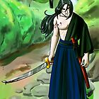 Samurai in the Forest by Liz Staley