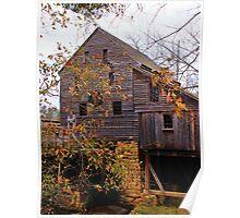 Yates Mill - Raleigh, North Carolina, USA Poster