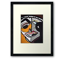 Art Picasso Style Framed Print