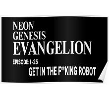 Get in the F**king Robot Poster
