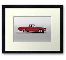 1965 Ford 'Custom' Ranchero Framed Print