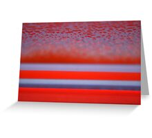 Abstract Line 2 Greeting Card