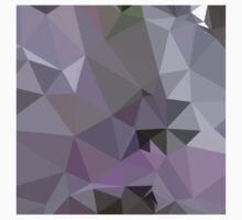 Antique Fuchsia Purple Abstract Low Polygon Background by retrovectors
