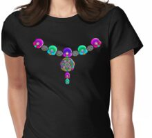 """The Crossing Vertex Jewels""© Womens Fitted T-Shirt"