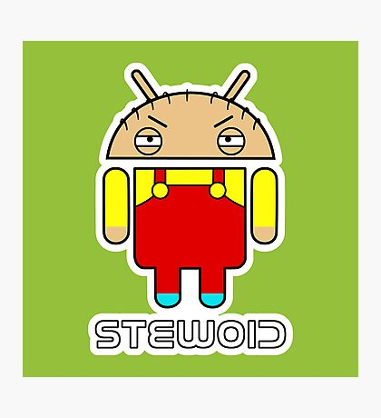 Stewoid Photographic Print