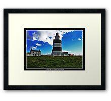Hook Lighthouse Co Wexford  Framed Print