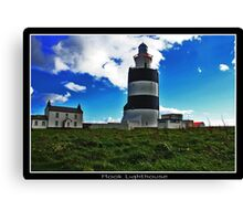Hook Lighthouse Co Wexford  Canvas Print