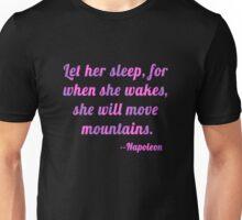 Shakespeare Let Her Sleep Unisex T-Shirt