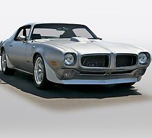 1971 Pontiac Firebird by DaveKoontz