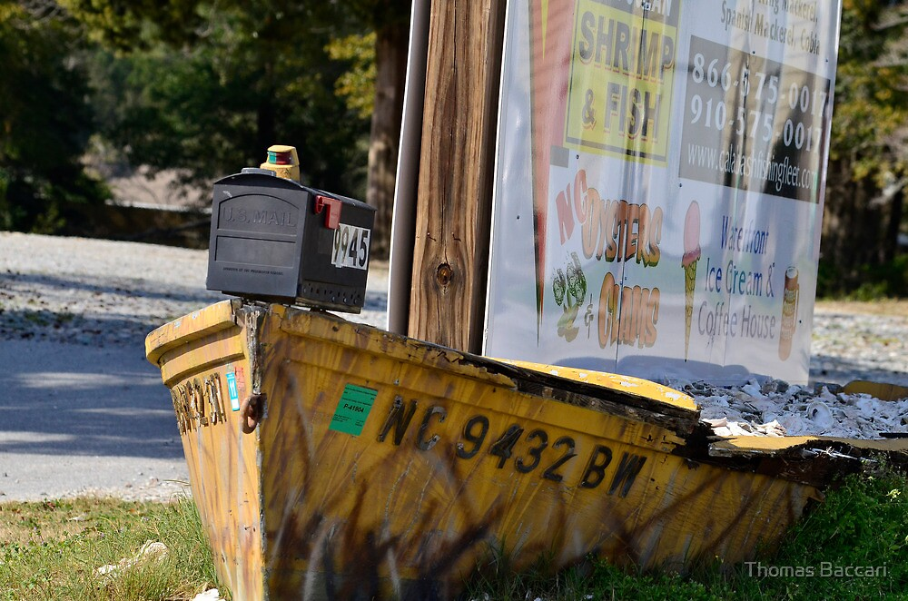 Nautical Mail Box by TJ Baccari Photography