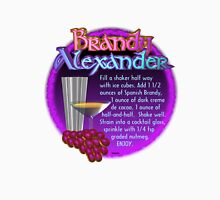 Brandy Alexander recipe by Valxart   Unisex T-Shirt