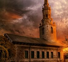Sunset At St Lawrence by Dave Godden