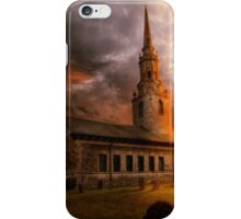 Sunset At St Lawrence iPhone Case/Skin