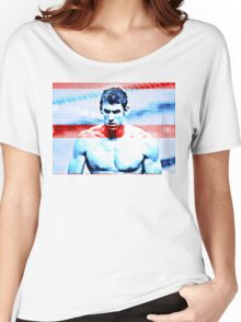 Michael Phelps - Pride of the USA Women's Relaxed Fit T-Shirt