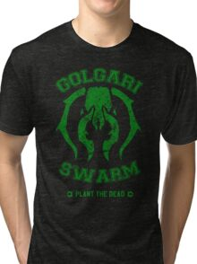 GOLGARI SWARM Tri-blend T-Shirt
