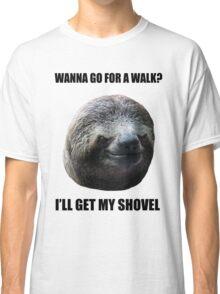 Evil Sloth Walk Classic T-Shirt