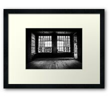 Shattered Panes Framed Print