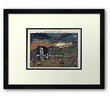 General offensive of the allied armies against Tʻien chin    Co. 8 Framed Print