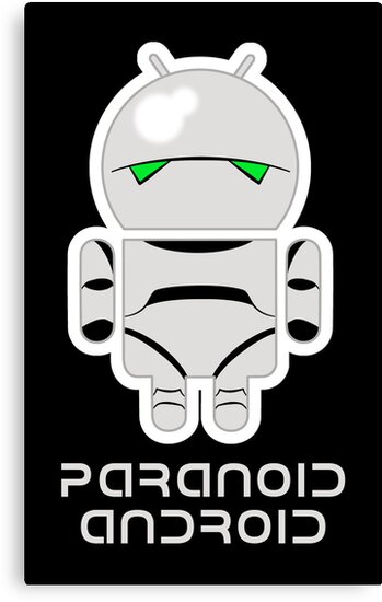 PARANOID ANDROID by jayveezed