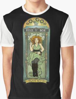 River Song ArtNerdveau Graphic T-Shirt