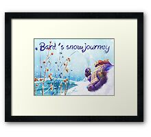 Snow Day Bard League of Legends Framed Print