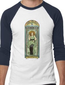 River Song ArtNerdveau Men's Baseball ¾ T-Shirt