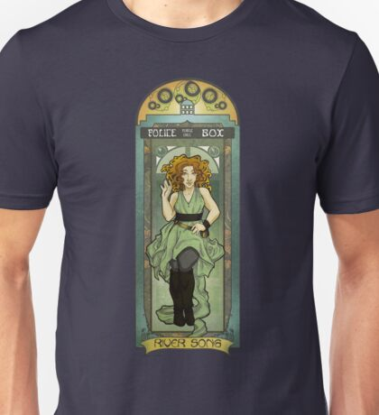 River Song ArtNerdveau Unisex T-Shirt