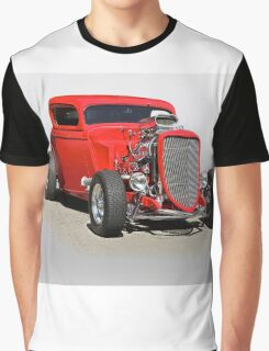 1934 Ford 'Mean and Nasty' Coupe Graphic T-Shirt