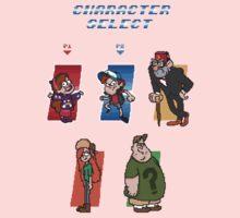 Gravity Falls Character Select Kids Tee