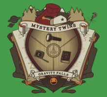 Mystery Twins Crest Kids Tee
