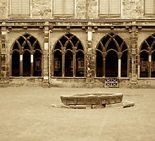 Durham Cathedral Cloisters by BethanApple
