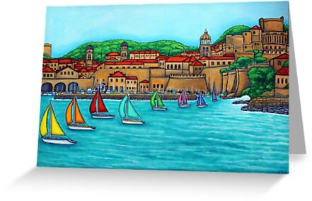 Dubrovnik Regatta by LisaLorenz