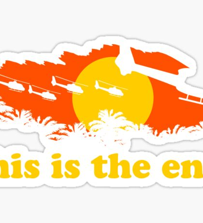 Apocalypse Now: This is the end Sticker