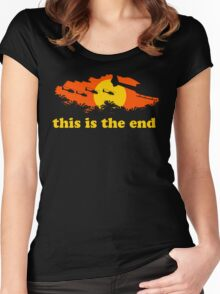 Apocalypse Now: This is the end Women's Fitted Scoop T-Shirt