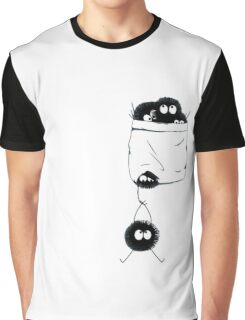Totoro Pocket Graphic T-Shirt