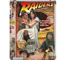 """Raiders of the Lost Ark, """"Circus Style"""" poster iPad Case/Skin"""