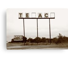 Route 66 - Abandoned Texaco Station Canvas Print