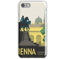 Vintage poster - Vienna iPhone Case/Skin
