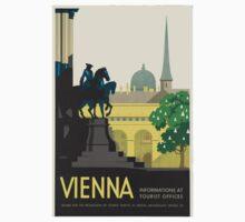 Vintage poster - Vienna Kids Tee